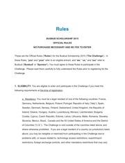rules busbudscholarship2015