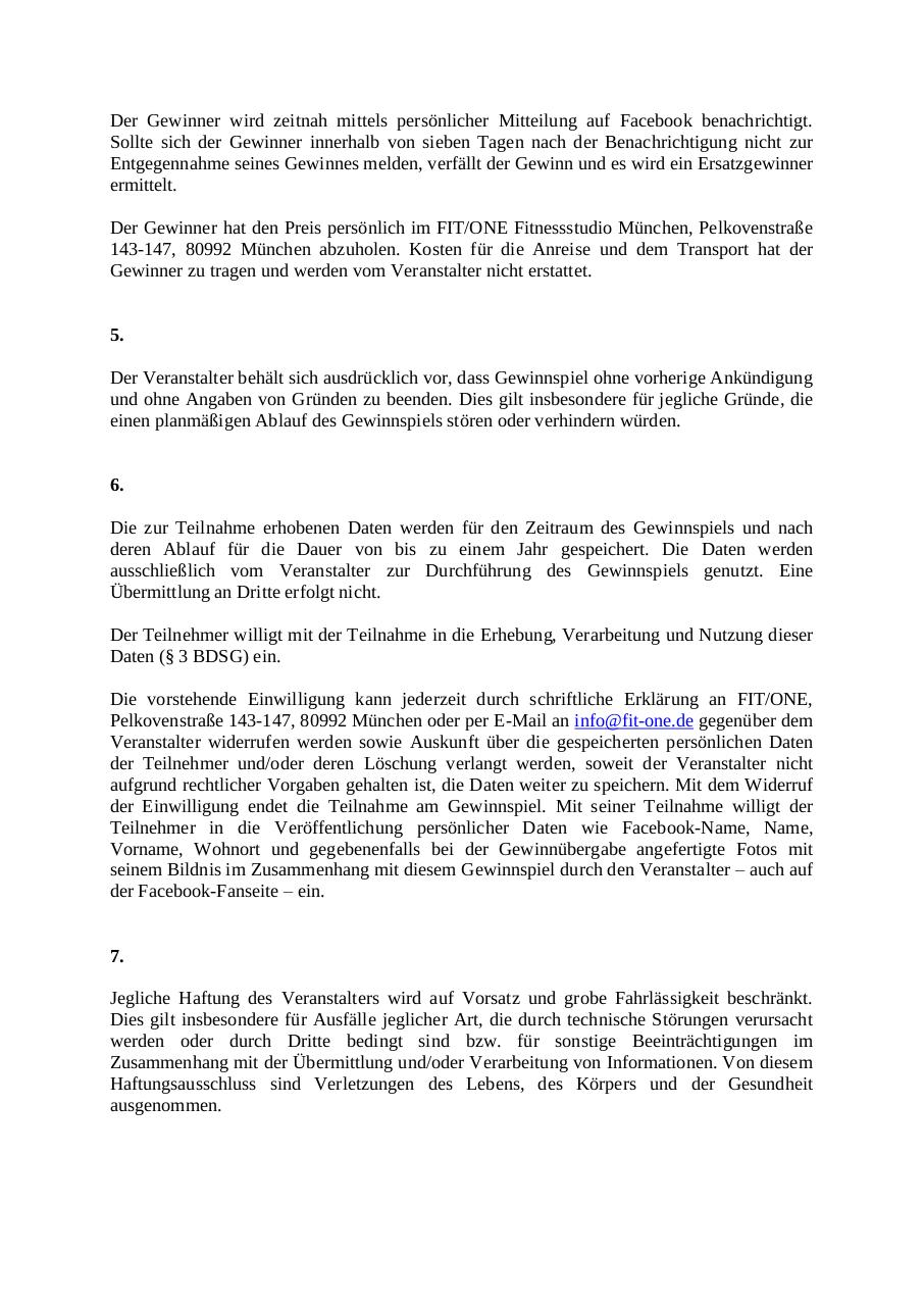 Document preview Teilnahmebedingungen.pdf - page 2/3