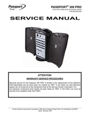 passport 300 pro service manual no diagrams