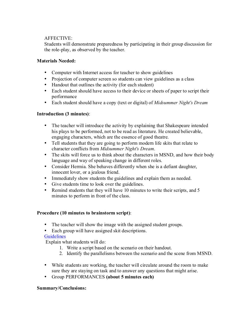 ThingLink MSND Lesson Plan.pdf - page 2/10