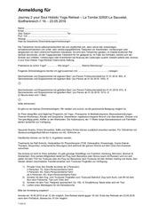 anmeldung yogaretreat mai 2016