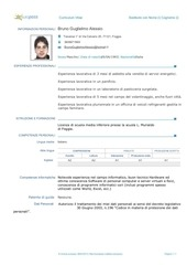 PDF Document curriculum vitae con foto