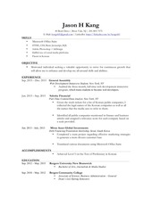 resume 2015 updated