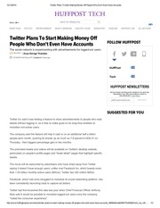 twitter plans to start making money