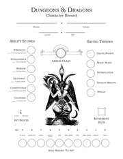 PDF Document dungeons and dragons character record final draft