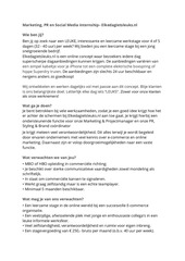stage vacature marketing medewerker
