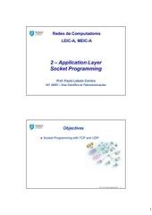 2 application socketprogramming