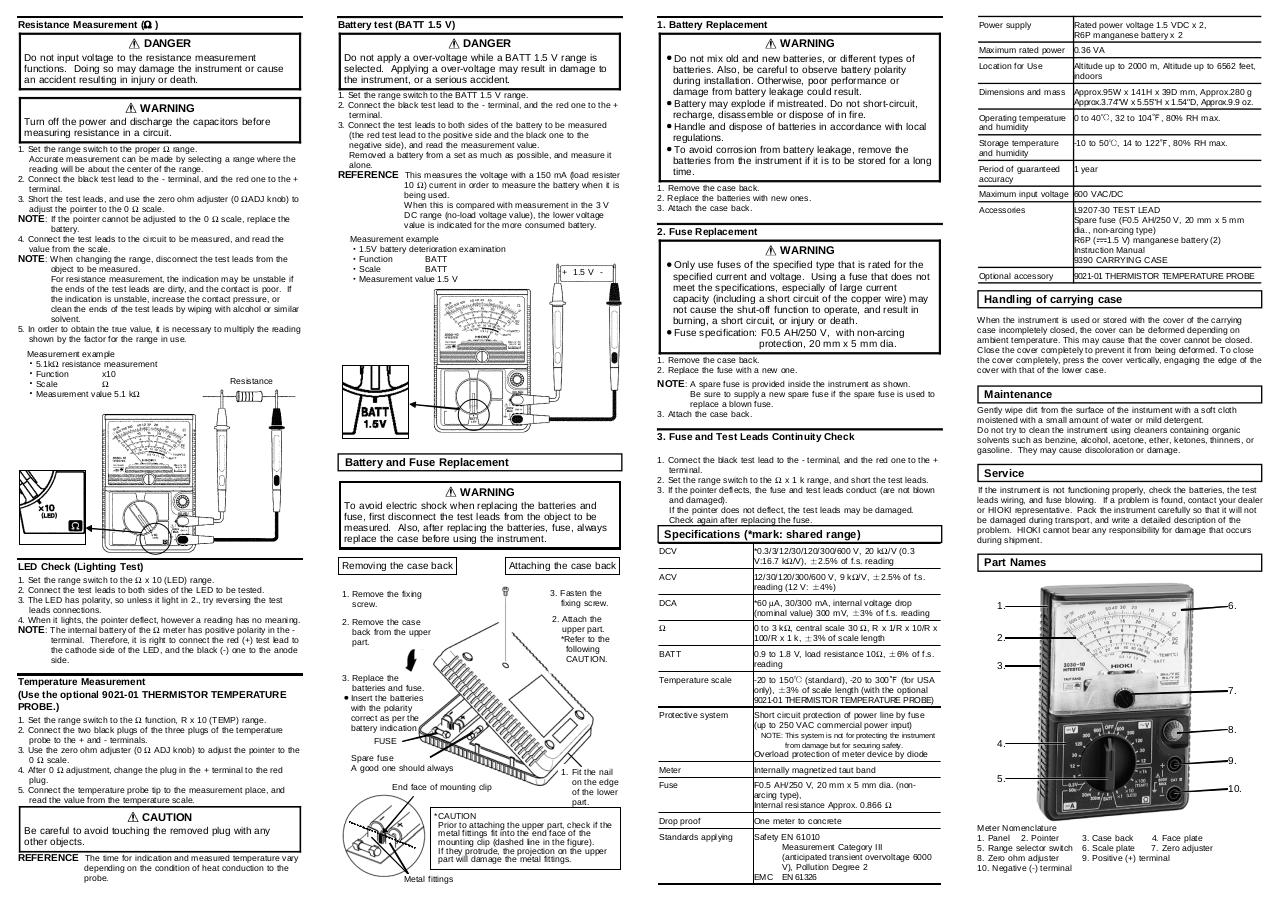 Document preview HIOKI_3030-10_ENG.pdf - page 4/4