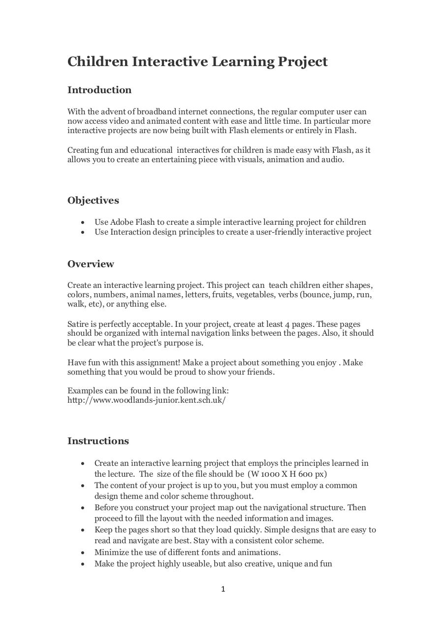 project 2_Children.pdf - page 1/3