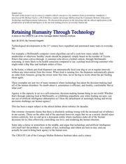 humanity technology feature story