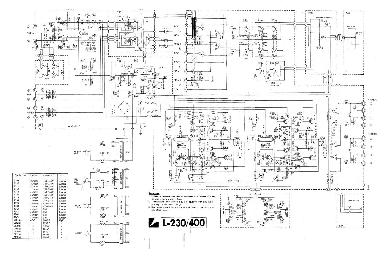 Document preview hfe_luxman_l-230_400_schematic.pdf - page 1/1