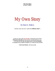 PDF Document my own story 2015 aug