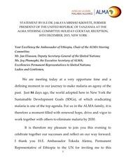 statement by h e president kikwete