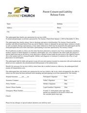 2016 permission form