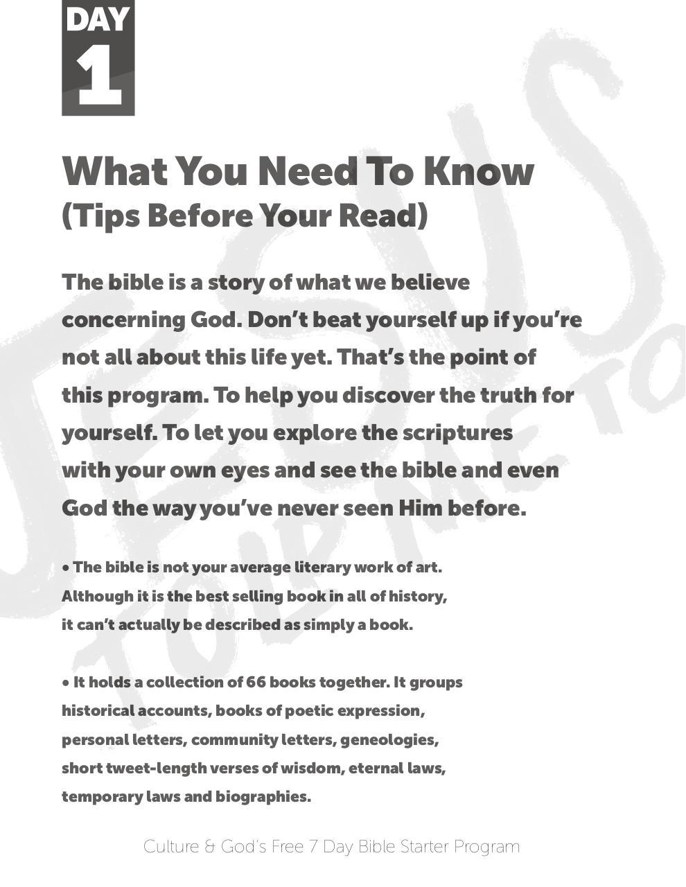 Free 7 Day Bible ProgramNew - PDF Archive