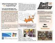 swift staffing brochure