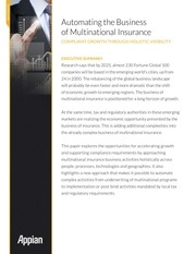 453571 automating the business of multinational insurance