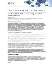 458087 idc tech spotlight new ddos defense final