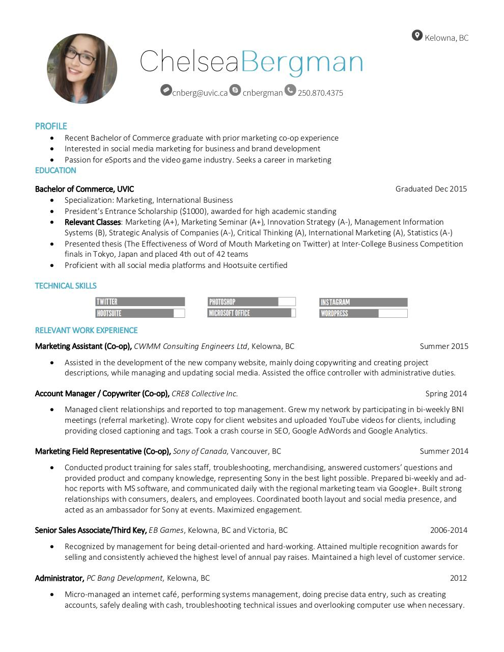 Document preview Chelsea Bergman_Resume.pdf - page 1/1