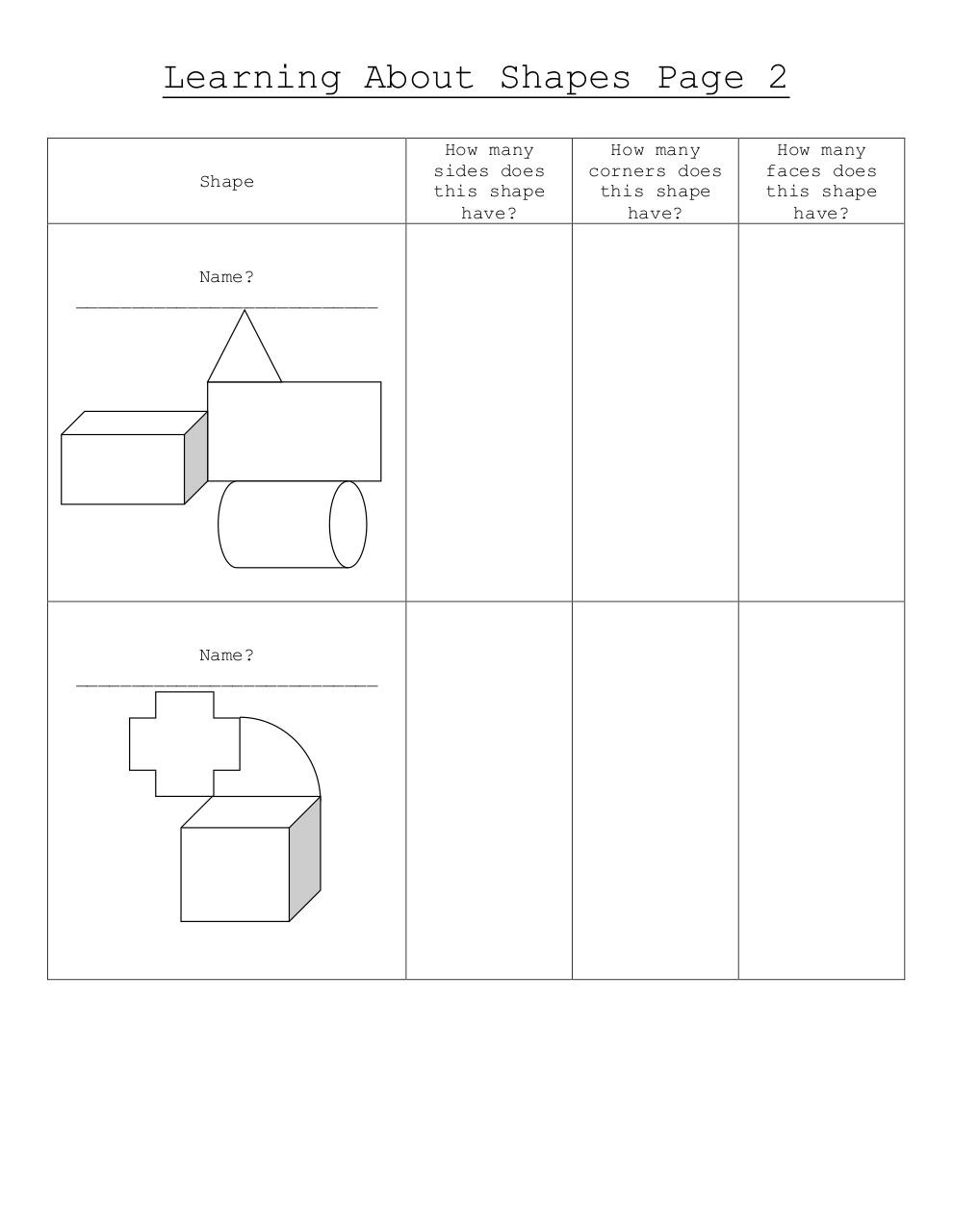 Learning About Shapes Worksheet.pdf - page 2/2