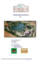 toeristische informatie 2016
