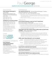 resume jan 2016