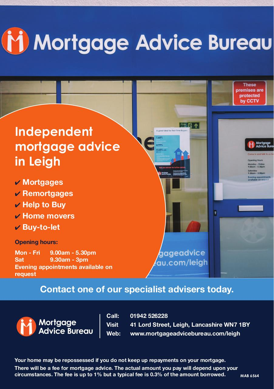 Document preview MAB 6564 Leigh Mortgage Shop front advert template v2.pdf - page 1/1