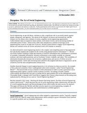 nccic socialengineering