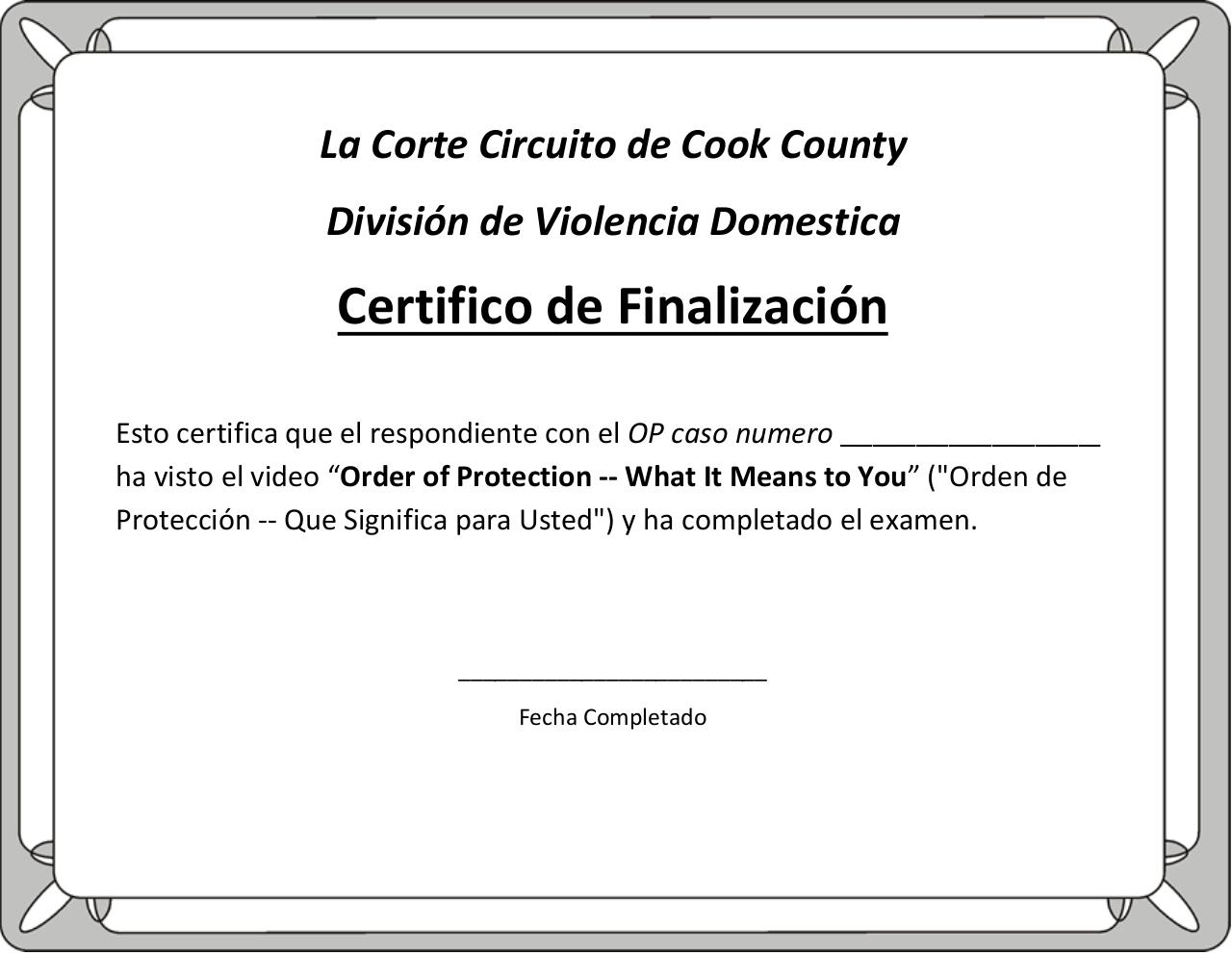 Spanish certificate of completion with print option pdf pdf archive report spam or adult content 1betcityfo Gallery