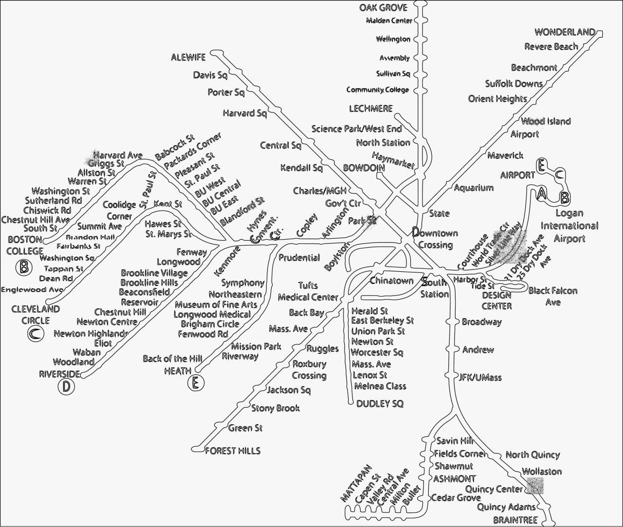 Document preview Coloring Boston Subway MBTA Map4 - Copy.pdf - page 1/1