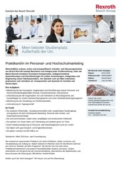 praktikant in personalmarketing