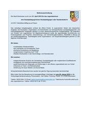 PDF Document stellenausschreibung jugendzentrum