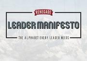 renegade manifesto web