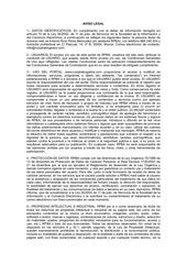 PDF Document aviso legal