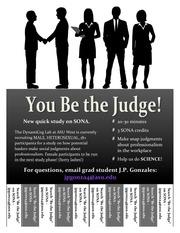 be the judge study flyer pdf