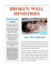 2015 newsletter