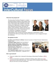 the intercultural facilitator program 1