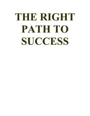 the 20right 20path 20to 20success