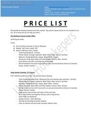 uhousekeepers prices