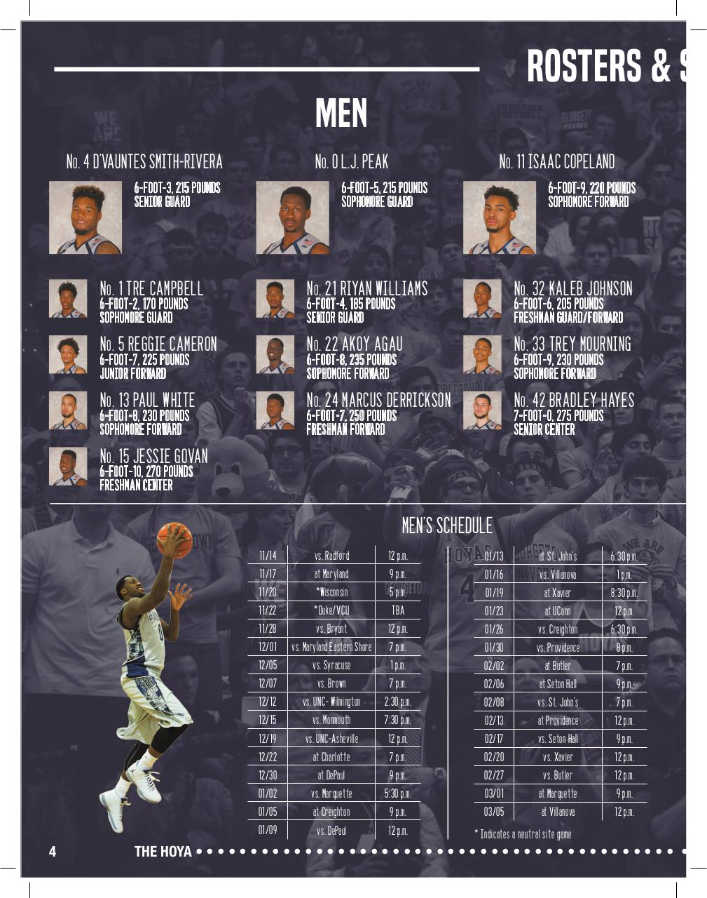 The Hoya Basketball Preview 15-16.pdf - page 4/32