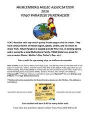 2016 yogo paradise mma fundraiser