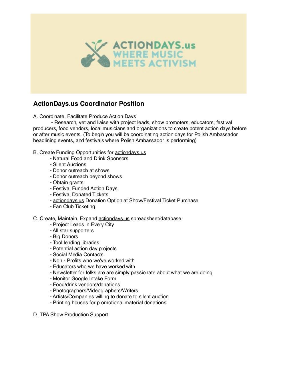 Job Description Job Descriptionpdf PDF Archive – Photographer Job Description
