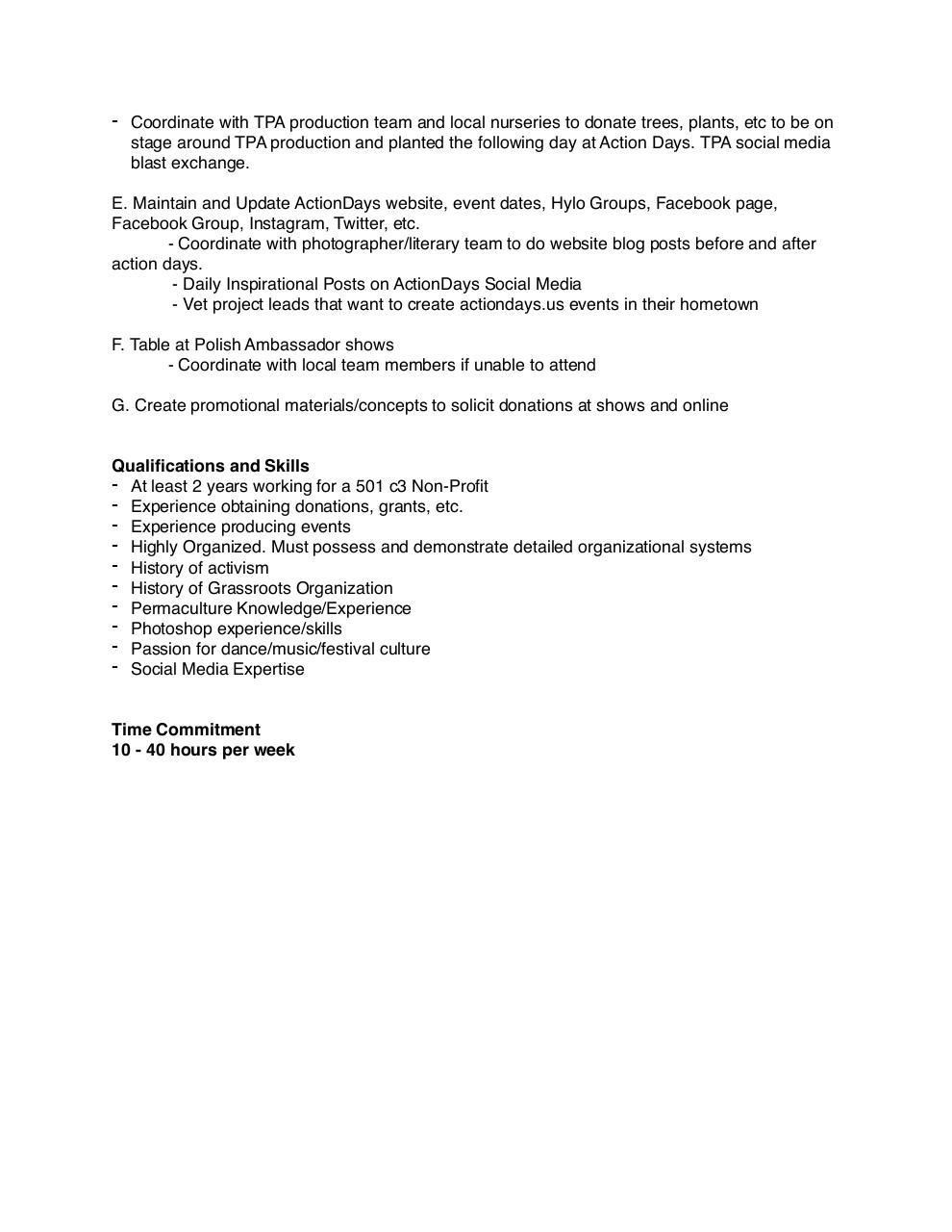 Job Description Job Descriptionpdf PDF Archive – Photographer Job Description