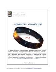 efemerides astronomicas 2016