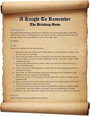 a knight to remember feb 16