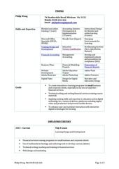 pw resume 2016