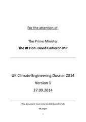 uk climate engineering dossier 2014 version 1