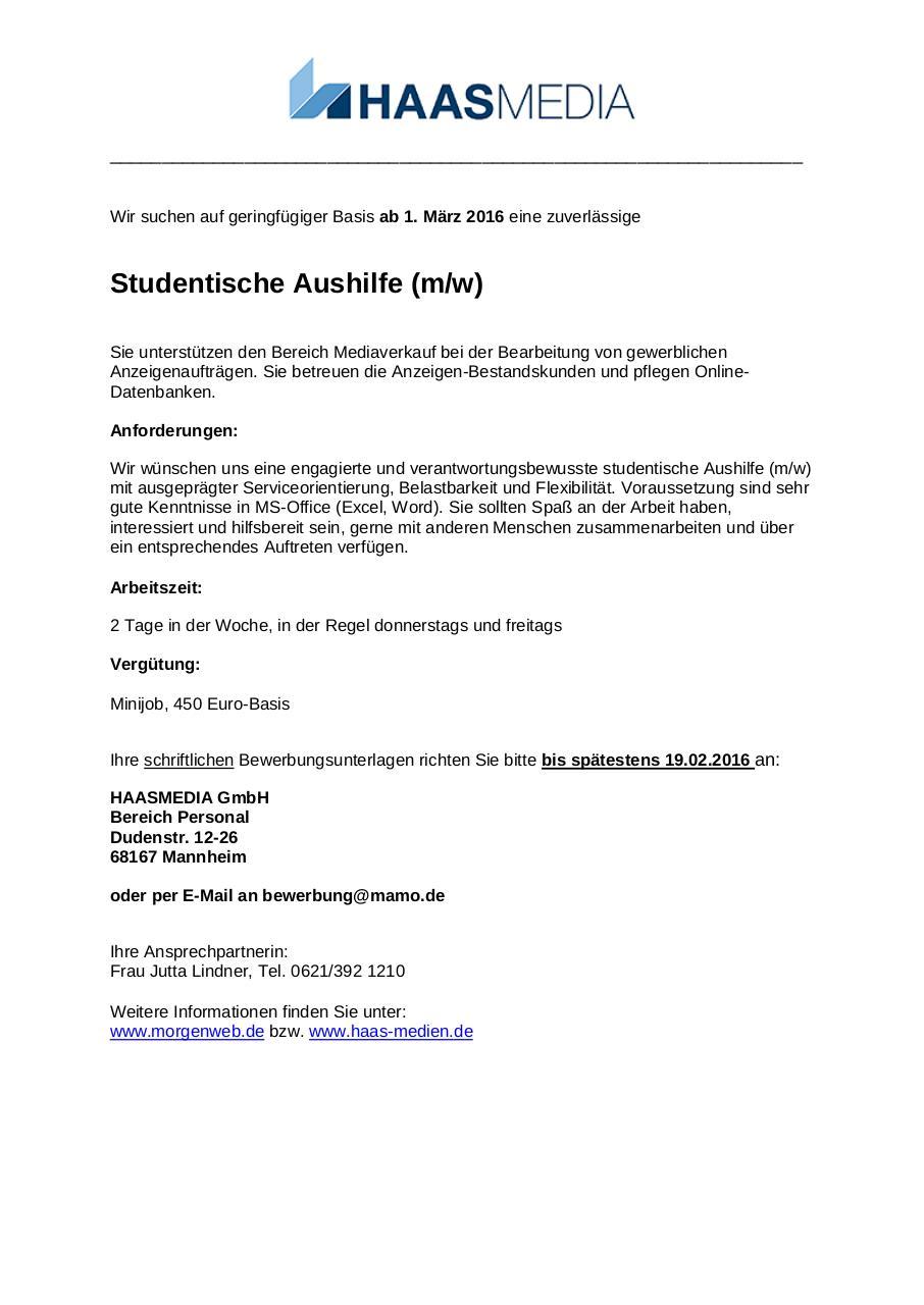 document preview 2016 02 studentische aushilfe_hmpdf page 11 - Hm Online Bewerben