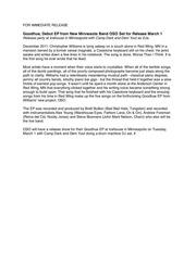 oso ep release press release