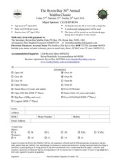 bb mal club 2016 entry form